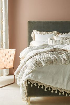 Perfect Tasseled Linen Duvet Cover