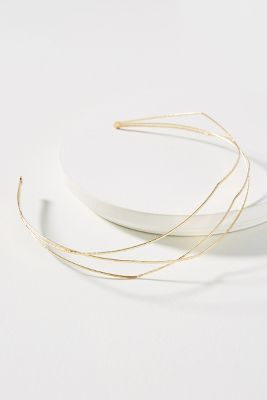 Haarband Mit Linearem Wellendesign by Anthropologie