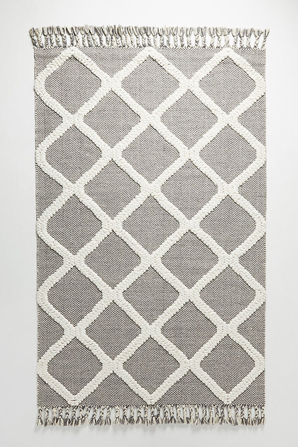 Woven Marah Rug Swatch - Grey, Size Swatch