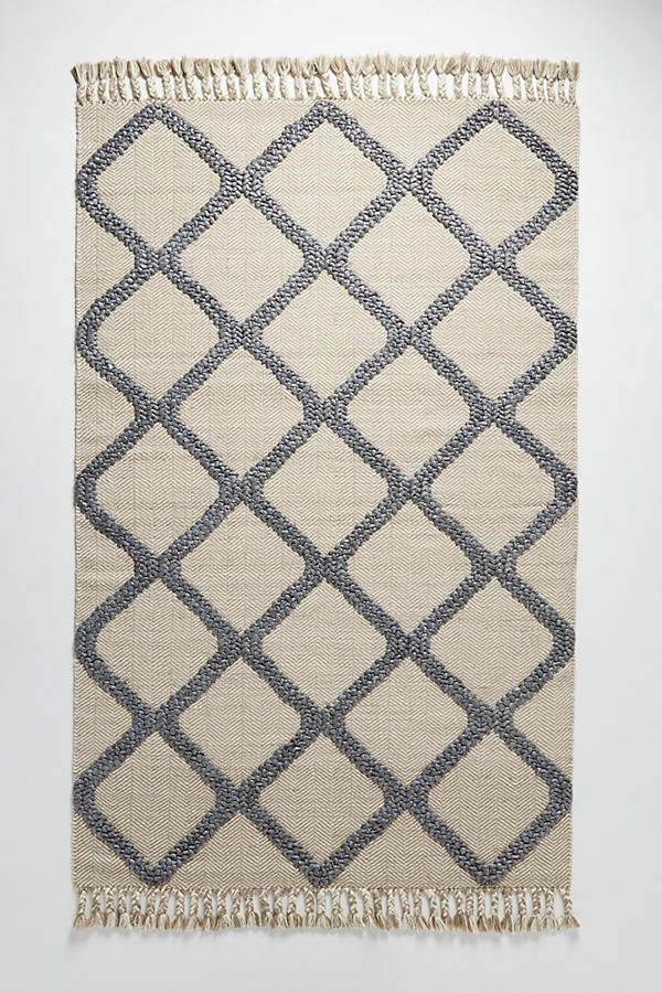 Slide View: 1: Woven Marah Rug Swatch