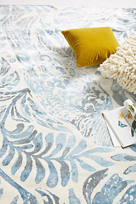Slide View: 2: Tropical Treescape Rug