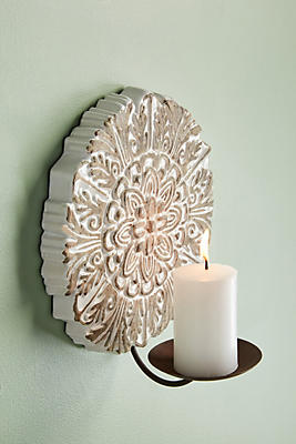 Slide View: 1: Antoinette Candle Sconce