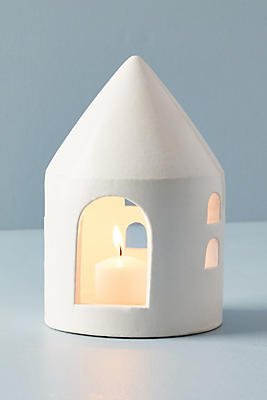 Slide View: 2: Sweet Home Ceramic Votive