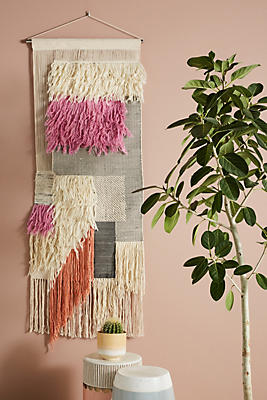 Slide View: 2: Signe Woven Wall Art