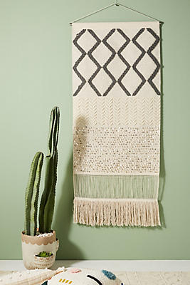 Slide View: 1: Solene Woven Wall Art