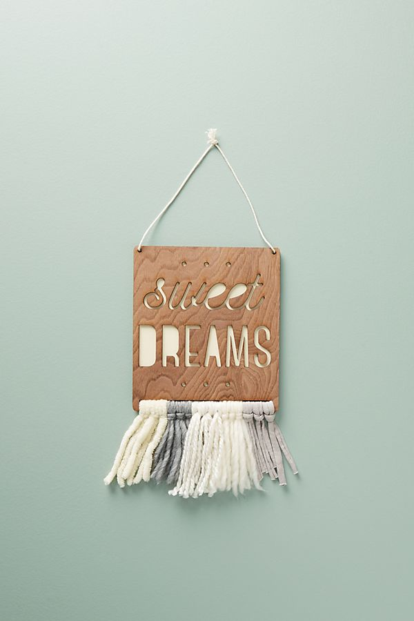 Slide View: 1: Sweet Dreams Wall Art