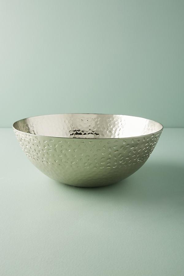 Hammered Zanzi Nesting Bowl - Silver, Size Pasta