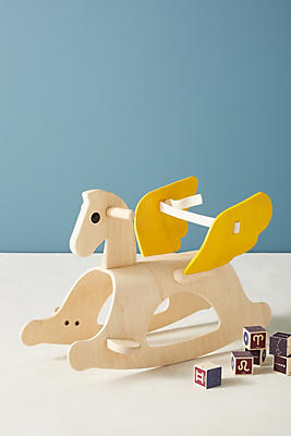 Slide View: 1: Pegasus Rocking Horse