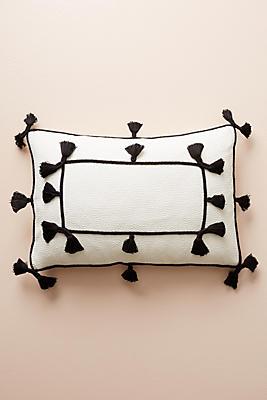Slide View: 1: Tasseled Greta Pillow