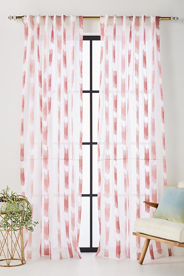 Balera Jacquard Curtain - Pink, Size 108