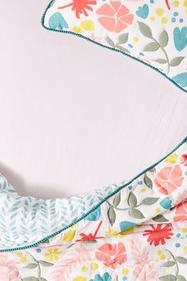 Cotton Jersey Crib Sheet by Anthropologie