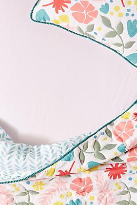 Slide View: 1: Cotton Jersey Crib Sheet