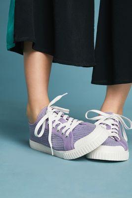 Tretorn   Tretorn Mesh Sneakers  -    LAVENDER