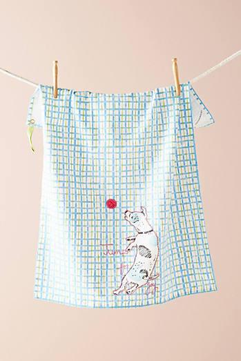 Blue - Tea Towels, Dish Towels, & Kitchen Towels | Anthropologie