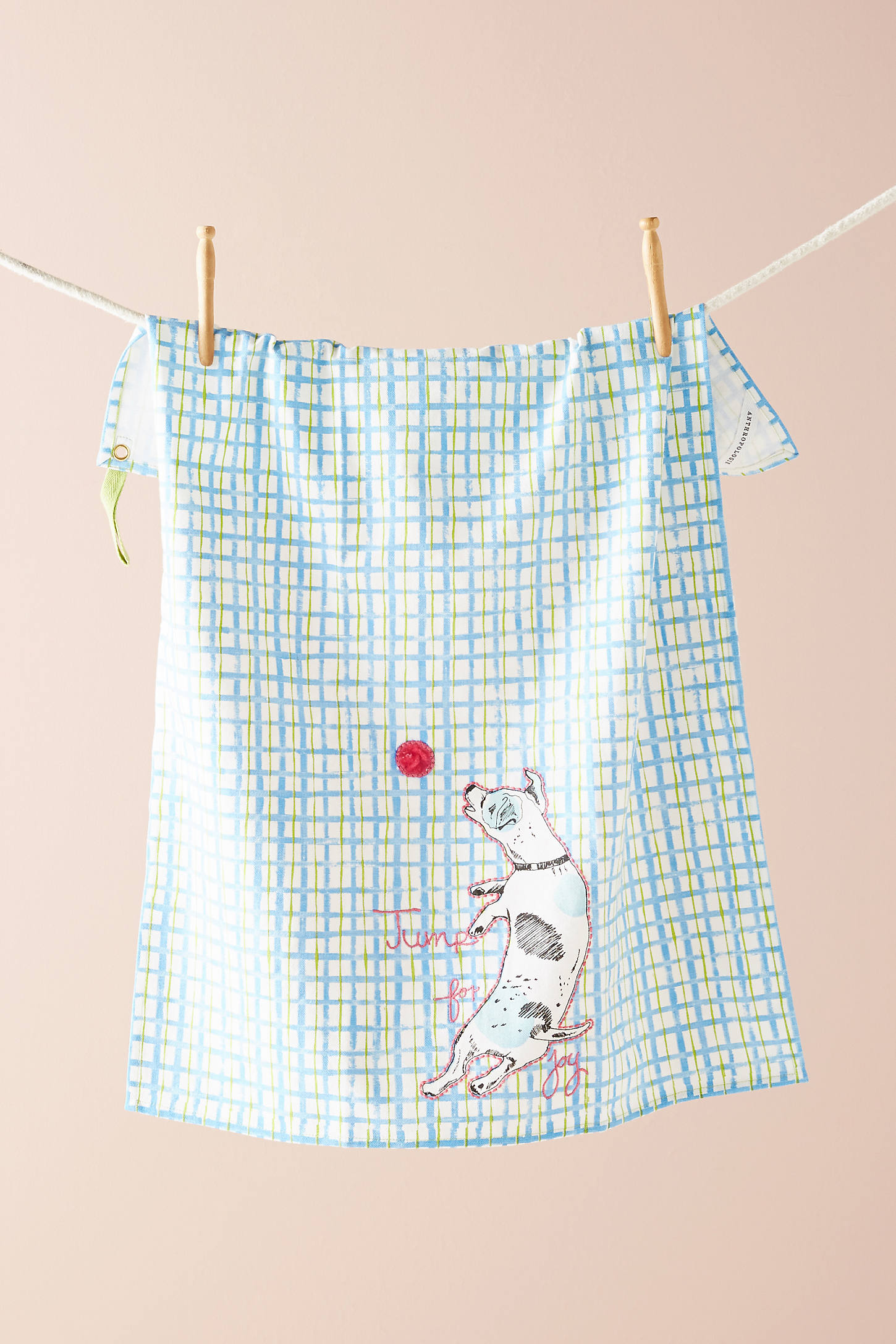 Playful Pup Dish Towel