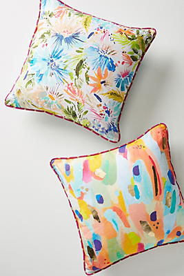 Slide View: 4: Lillian Farag Painterly Pillow
