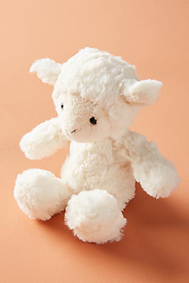Slide View: 1: Lamby Plush Toy