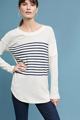Slide View: 1: Splendid Seabrooke Striped Top