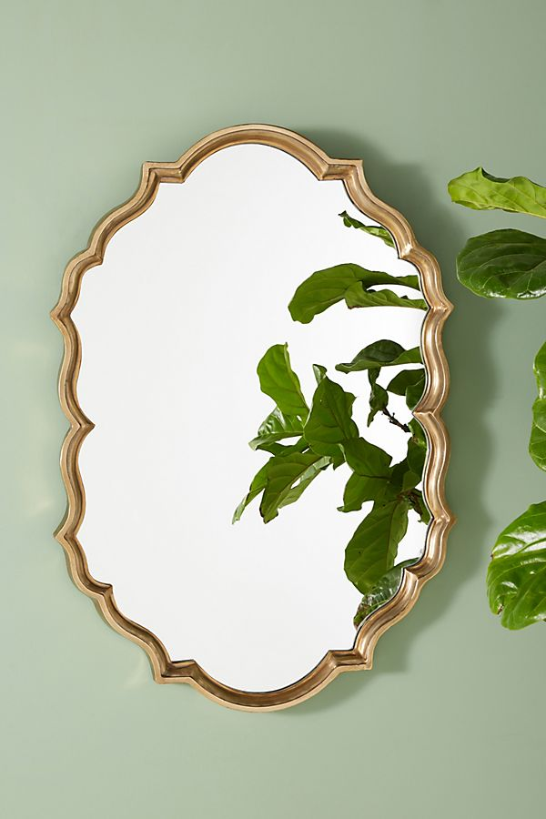 Slide View: 1: Colette Oval Mirror