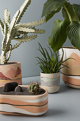 Slide View: 3: Layered Landscape Pot