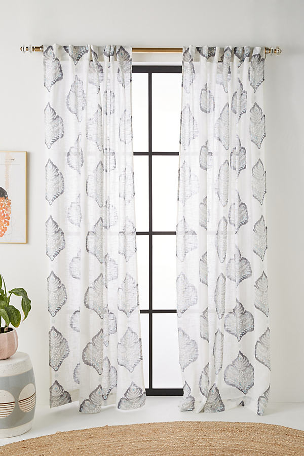 Sorella Curtain - Grey, Size 50 X 84