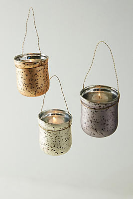 Slide View: 2: Speckled Hanging Votive