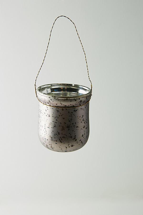 Speckled Hanging Votive - Lilac