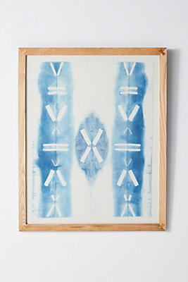 Slide View: 1: Shibori Wall Art