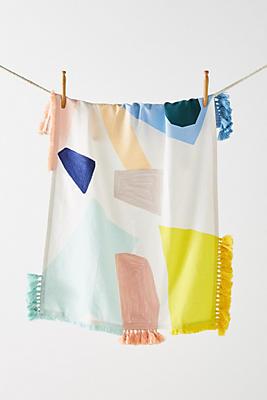 Slide View: 1: San Sola Dish Towel
