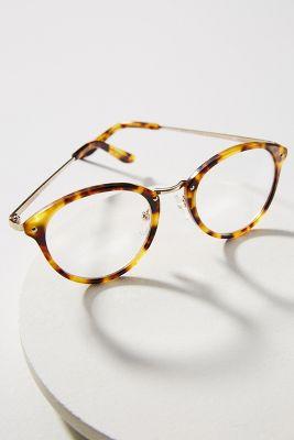 Eloise Tortoise Round Reading Glasses  -    Tortoise
