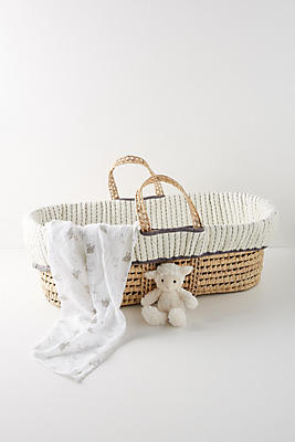 Slide View: 1: Moroccan Baby Basket