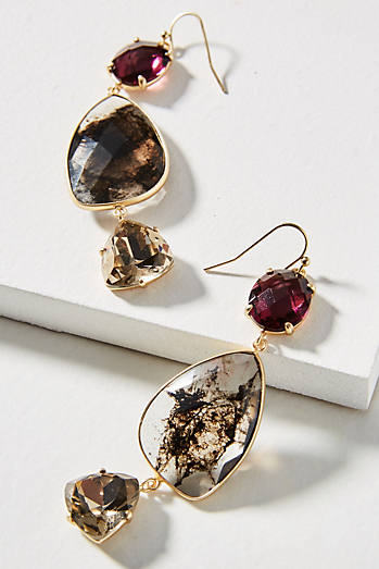 Triumverate Drop Earrings