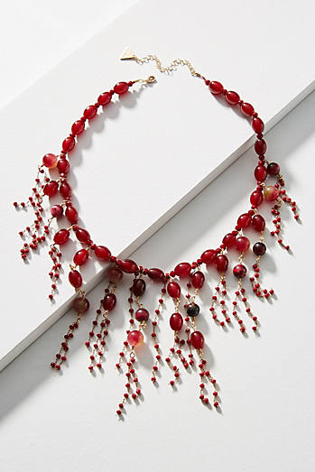 Currant Bib Necklace