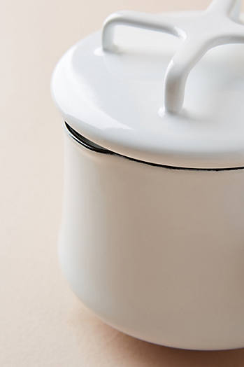Slide View: 2: Dansk Kobenstyle Butter Warmer With Lid
