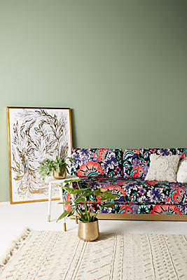 Slide View: 1: Liberty for Anthropologie Feather Bloom Cardiff Sofa