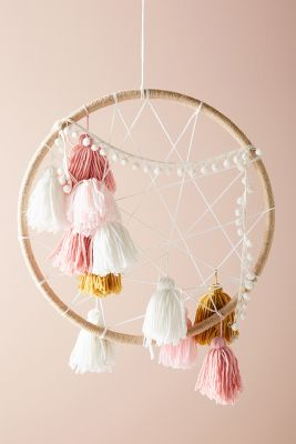 Tasseled Dream Catcher by Anthropologie