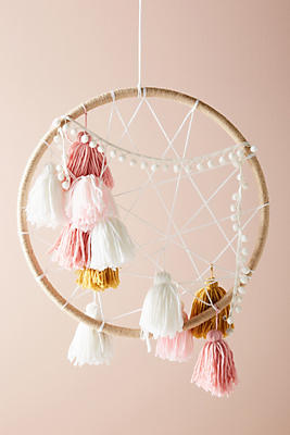 Slide View: 1: Tasseled Dream Catcher