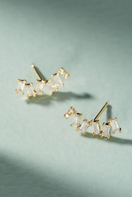 Bonita Climber Earrings  -    GOLD