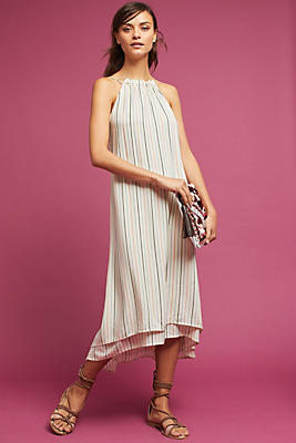 Slide View: 1: Lucca Striped Dress