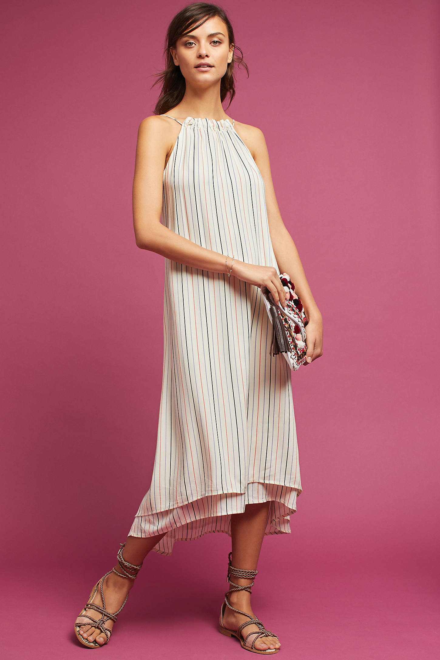 Lucca Striped Dress