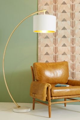 Demi Arche Floor Lamp by Anthropologie