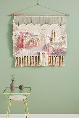 Slide View: 1: Tayah Woven Wall Art