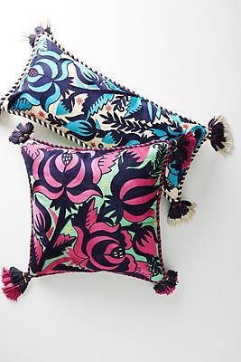 Slide View: 1: Tasseled Gertrude Pillow