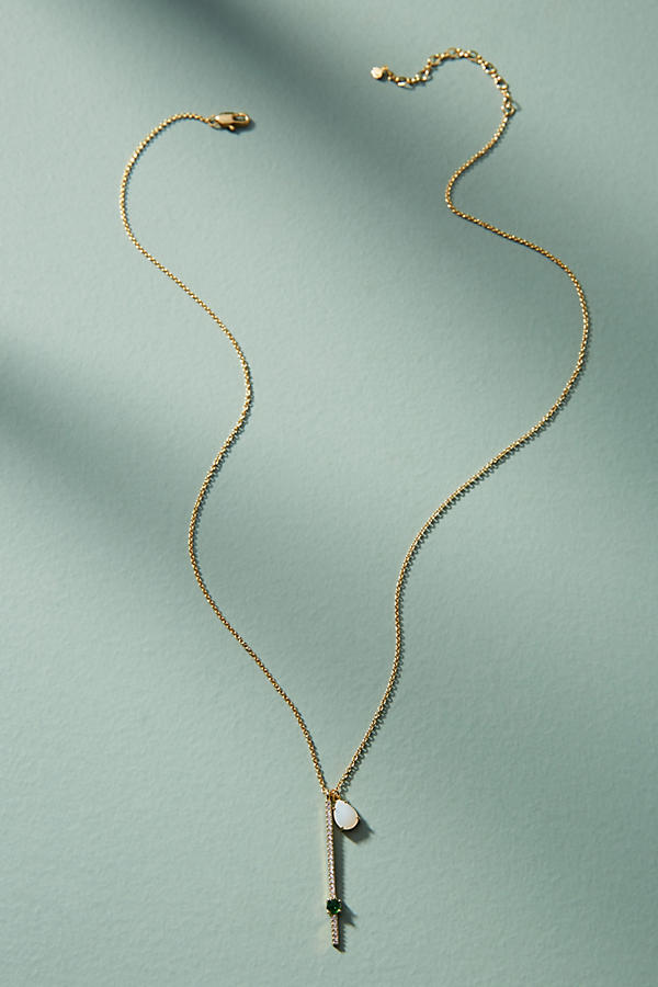 Slide View: 2: Ariana Delicate Pendant Necklace