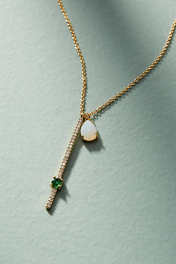 Slide View: 1: Ariana Delicate Pendant Necklace