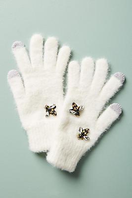 Slide View: 1: Well-Embellished Gloves