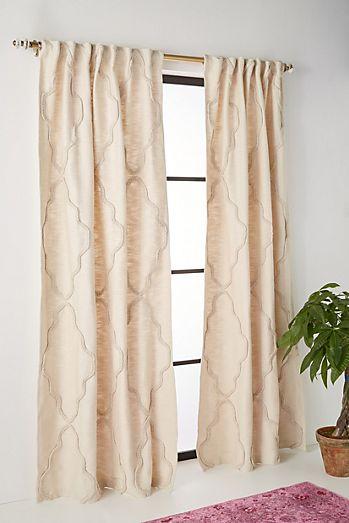Anthropology kitchen curtains curtain menzilperde net for Cool net curtains