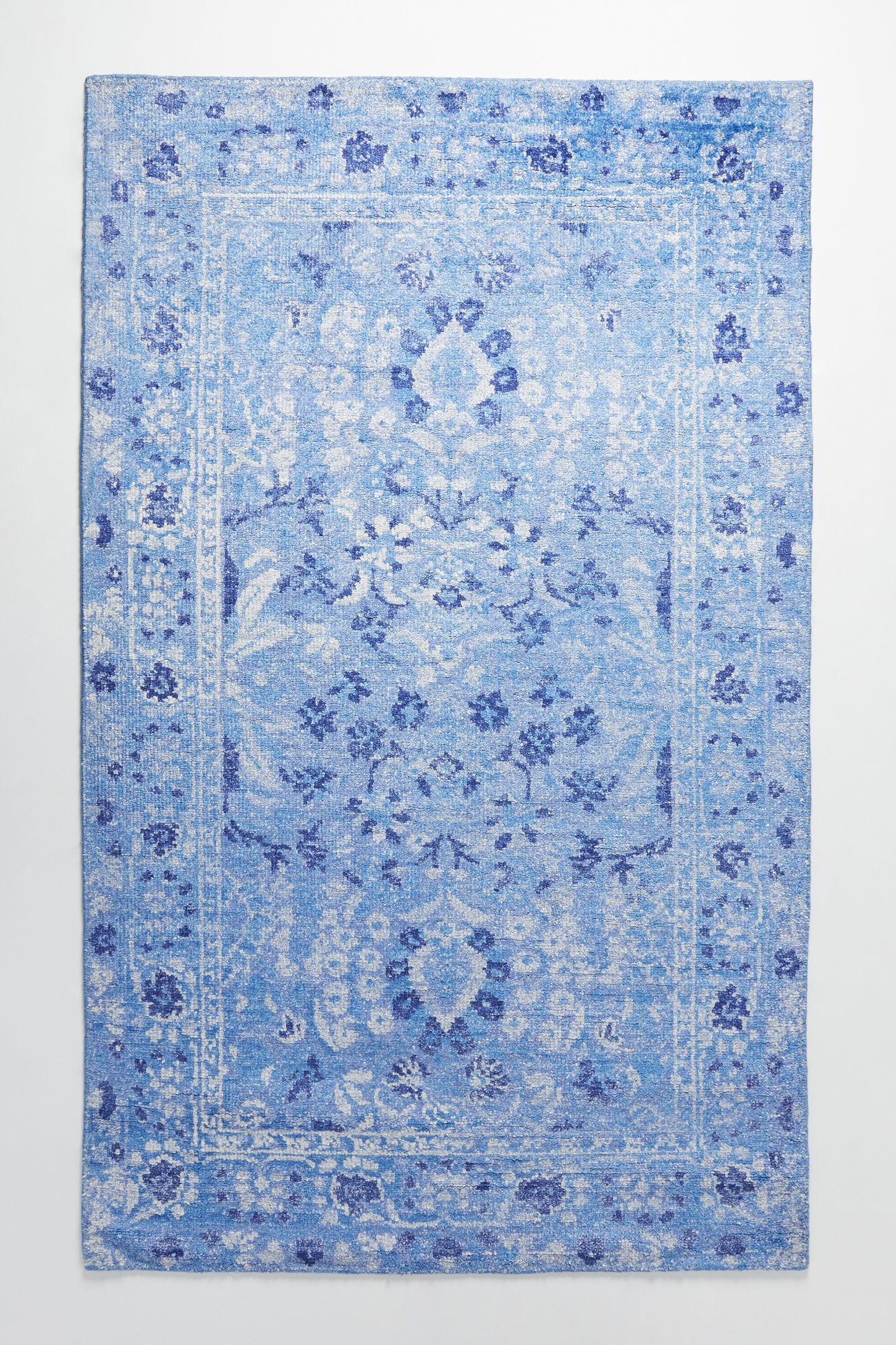blau leslie doris blue by rugs agua rug contemporary