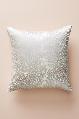 Slide View: 1: Kevin O'Brien Garland Velvet Pillow