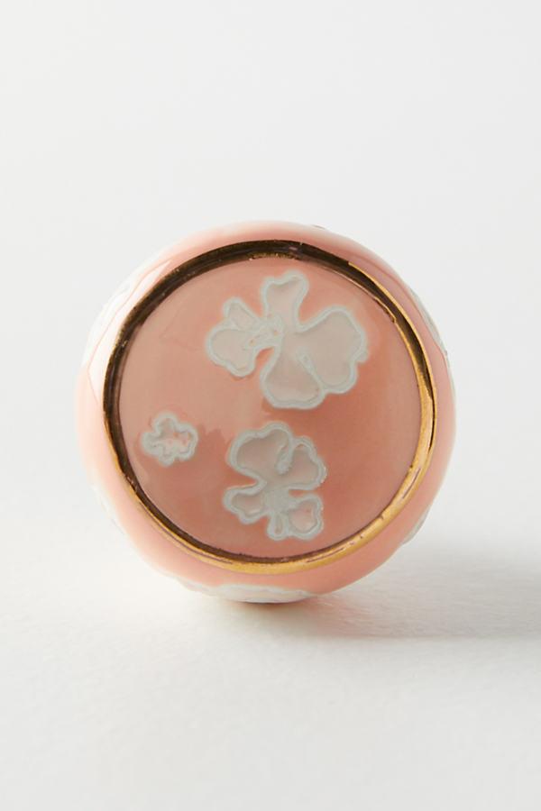 Sunprinted Knob - Pink